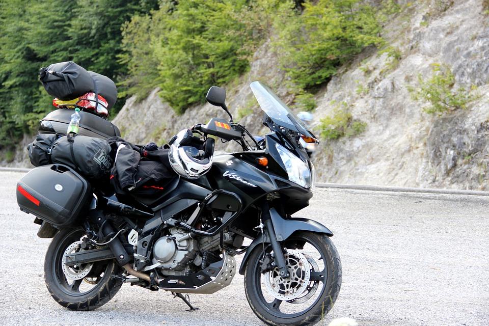 para viajar, prepare sua moto na LegSpeed