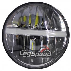 Farol 7 polegadas para Harley Davidson e adaptação / Cafe Racer Leg Speed