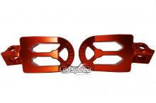 Pedal para motos OffRoad / Cross Laranja