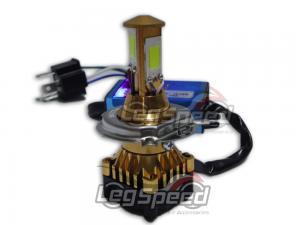 LAMPADA FAROL H4 3 LEDS UNIVERSAL LEG SPEED