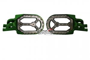 Pedal para motos OffRoad / Cross Verde Leg Speed