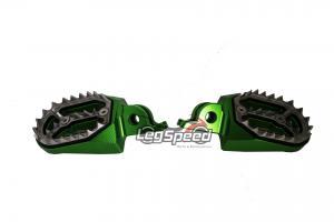 Pedal para motos OffRoad / Cross Verde