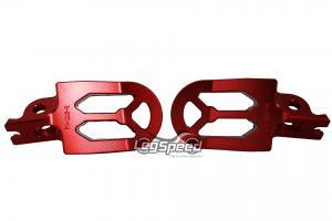 Pedal para motos OffRoad / Cross Vermelho